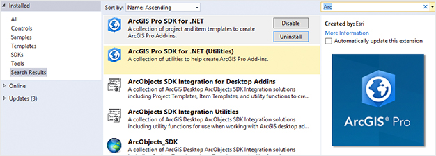 O que há de novo no SDK do ArcGIS Pro 1.4