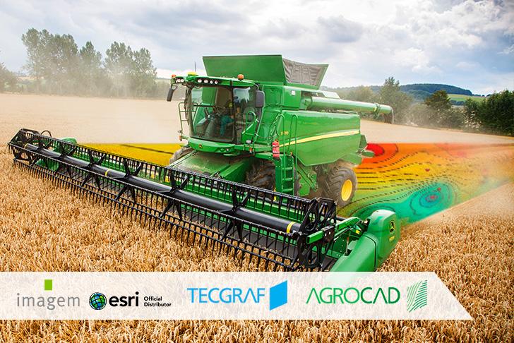 AgroCAD for ArcGIS – Parceria entre Tecgraf e Imagem é mais um passo para a transformação digital do campo.