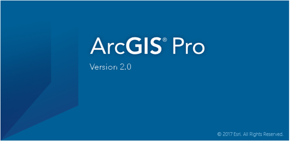 O ArcGIS Pro 2.0 já está disponível!
