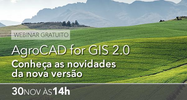 AgroCAD for GIS – Produtividade 2.0