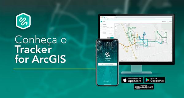 conheça o tracker for arcgis