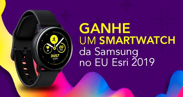 Ganhe um Smartwatch da Samsung no EU Esri 2019 com Guilherme Machado - Editor e Redator Portal GEO - Especialista em Marketing de Conteúdo - Content Marketing Specialist