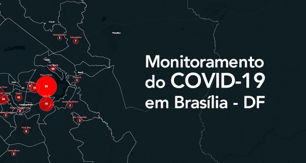 Monitoramento do COVID-19 em Brasília - DF
