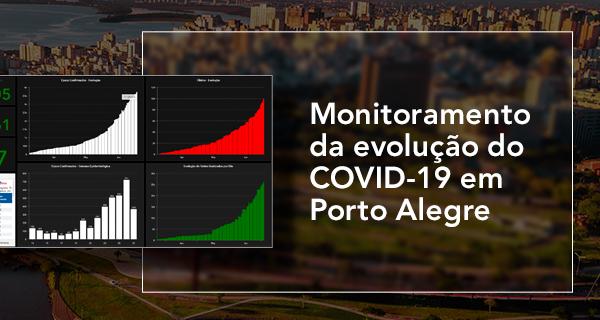 Monitoramento da evolução do COVID-19 em Porto Alegre