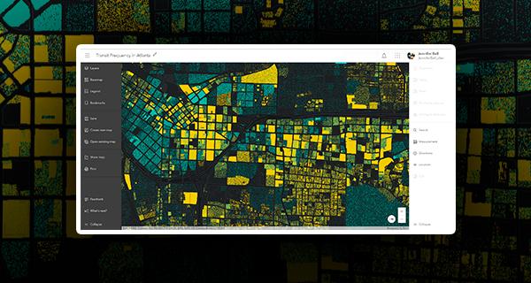 Map Viewer Beta, a próxima geração de mapeamento