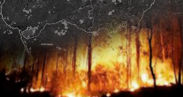 Monitoramento das queimadas no Brasil em 2020